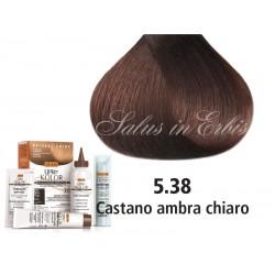 Tinta per capelli - Castano Ambra Chiaro - 5.38