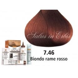 Tinta per capelli - Biondo Rame Rosso - 7.46