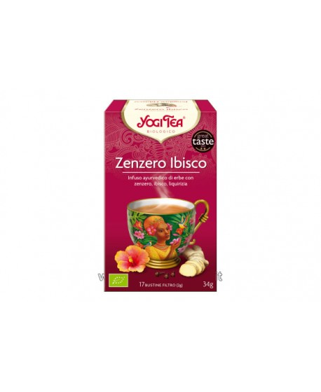 Yogi Tea - Zenzero Ibisco