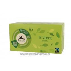 Tè verde in filtri
