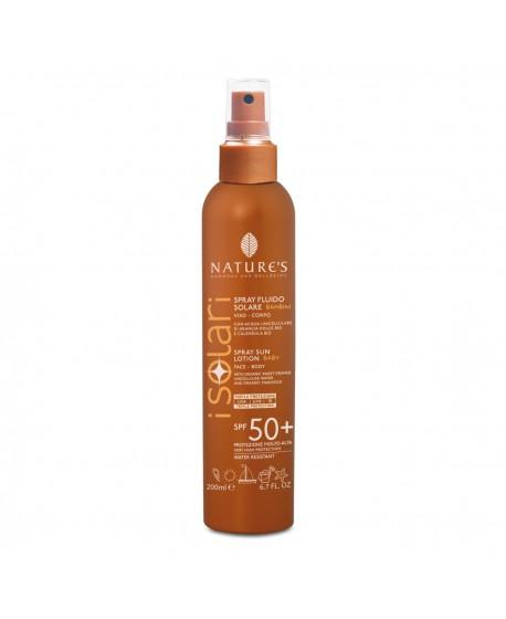 I Solari - Spray Fluido Solare Bambini SPF 50+