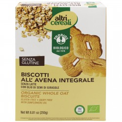 Biscotti all'avena integrali 250g