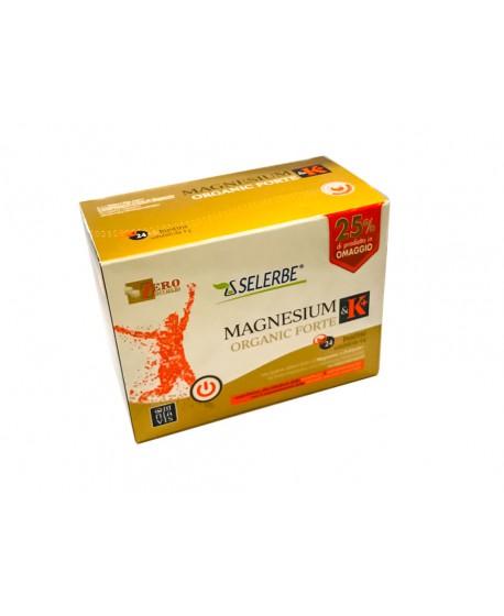 Magnesium & K+ Organic Forte - Magnesio e Potassio - Bustine