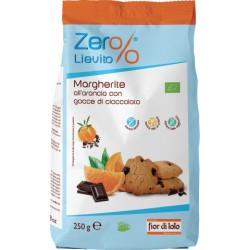 Margheritine al cioccolato e arancia S/L