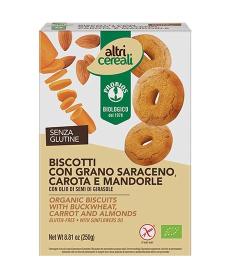 Biscotti al Grano saraceno senza glutine