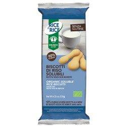 Biscotti di riso solubili