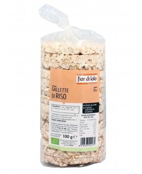 Gallette di riso con sale