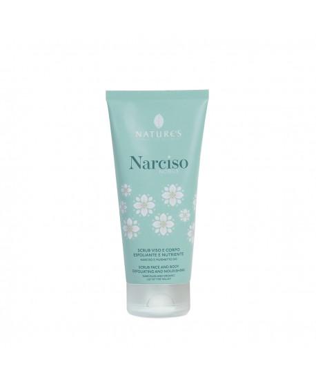 Scrub Viso e Corpo Esfoliante e nutriente Narciso Nobile