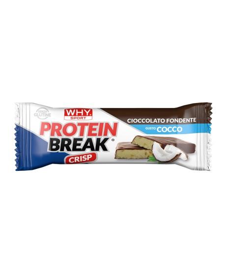 PROTEIN BREAK -  Cioccolato Fondente e Cocco