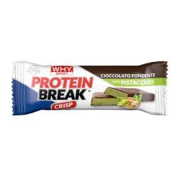 PROTEIN BREAK -  Cioccolato Fondente e Pistacchio